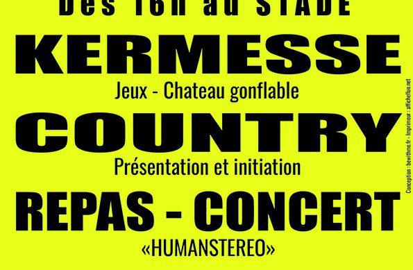 14 Juillet : Feu d'artifice et Kermesse