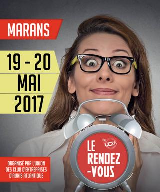 Rencontre Club d'Entreprise les 19 et 20 mai à Marans