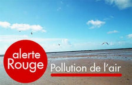 Pollution atmosphérique – Niveau Rouge