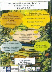 Journée famille autour du livre @ Centre de Loisirs Courçonnais | Courçon | France