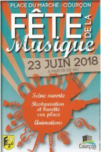 Fête de la musique organisée par le Fc2c @ Place du marché | Courçon | Nouvelle-Aquitaine | France