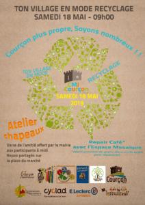 TON VILLAGE EN MODE RECYCLAGE @ Place de l'Eglise | Courçon | Nouvelle-Aquitaine | France