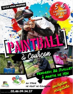 PAINT BALL - CLC @ STADE DE COURCON