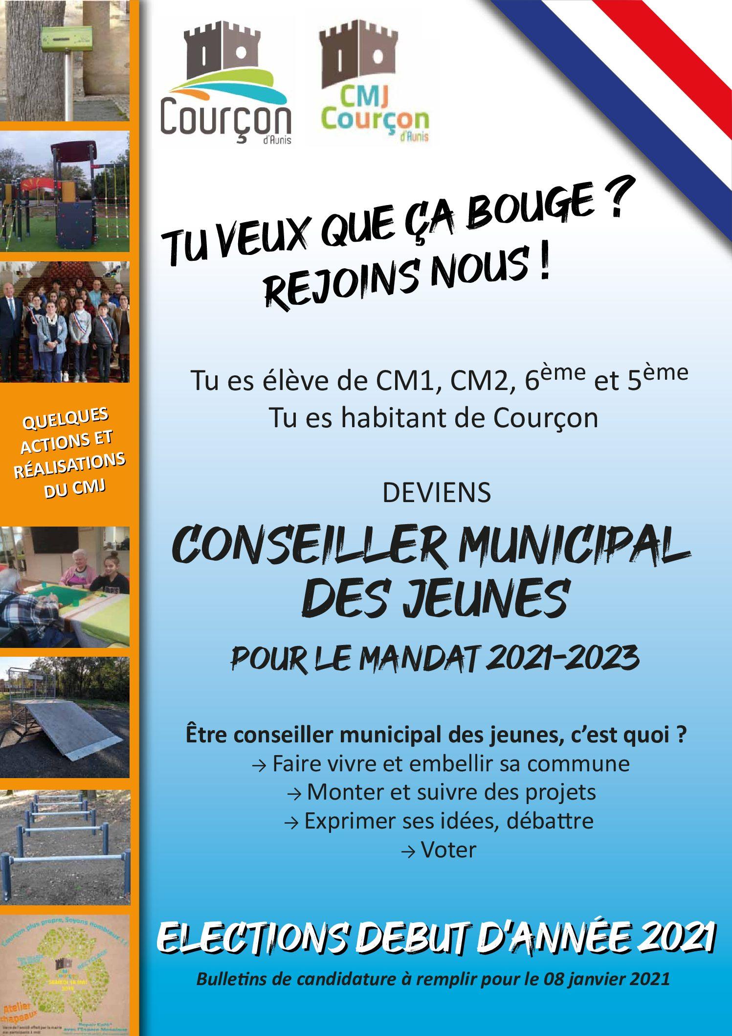 Conseil Municipal des jeunes 2021 – 2023 : dernière ligne droite pour les candidatures