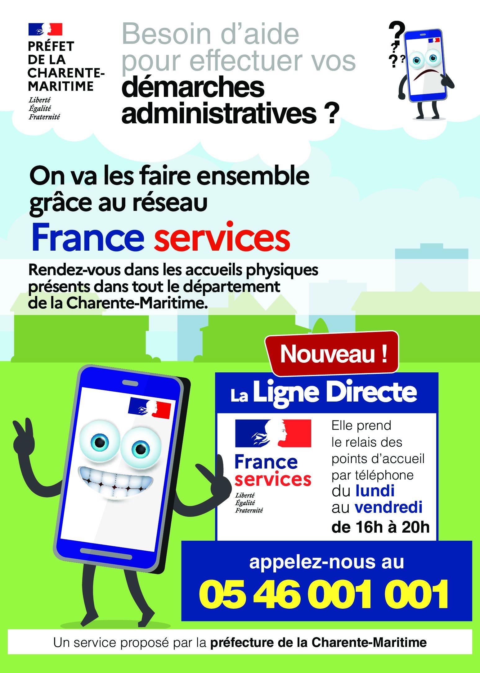 Ligne France Service – A partir du 29 mars 2021
